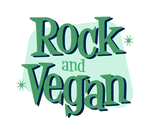 Rock and Vegan logo