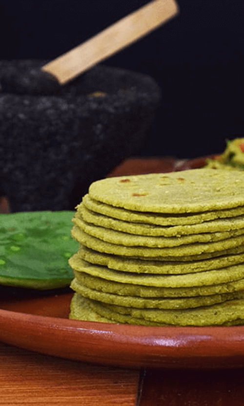 Nopal tortillas